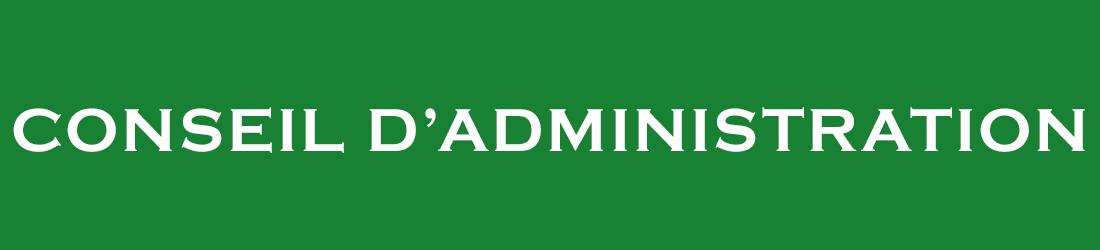 l'association - conseil d'administration